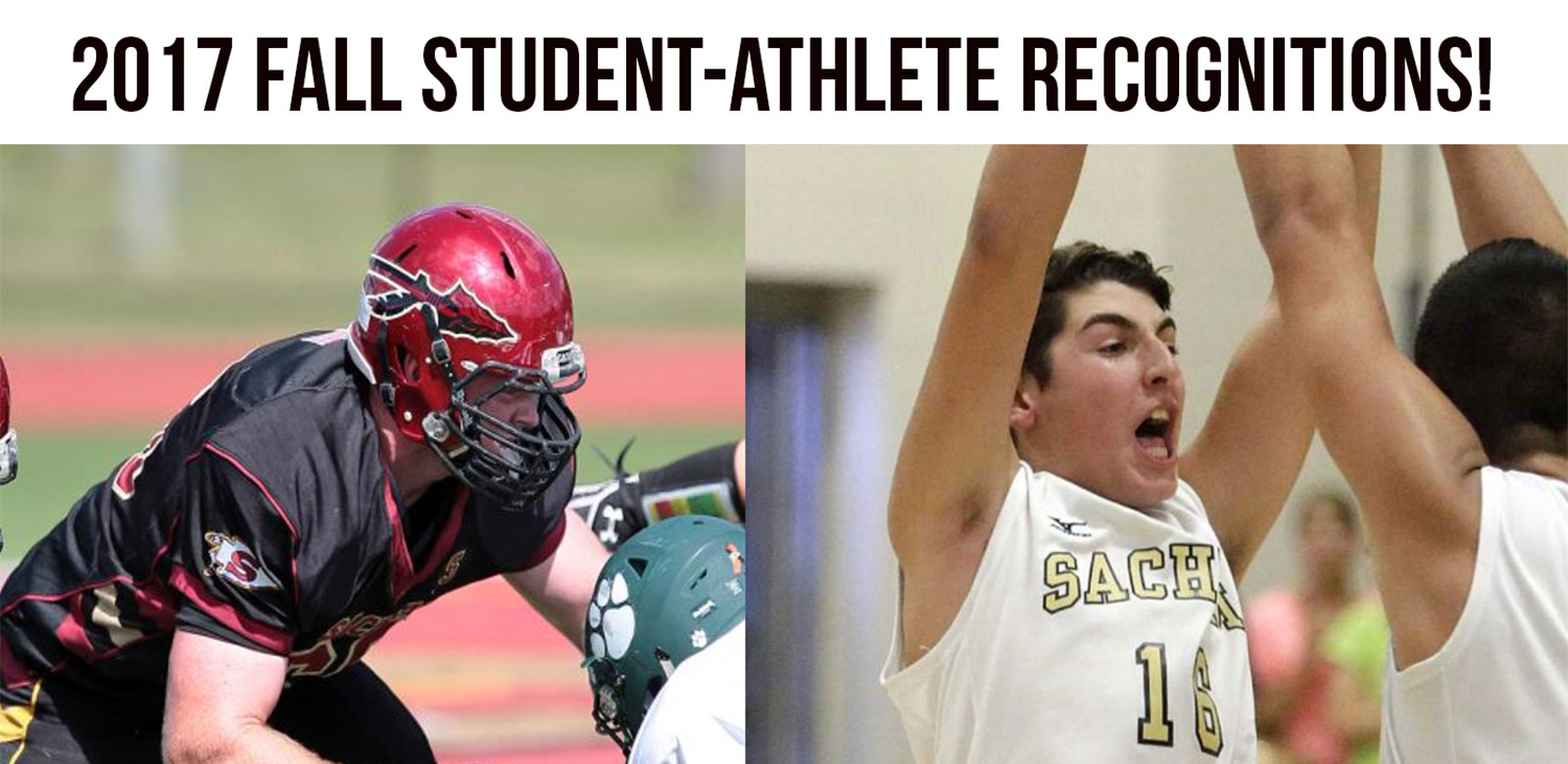 Sachem Student-Athletes Honored With Fall Recognition