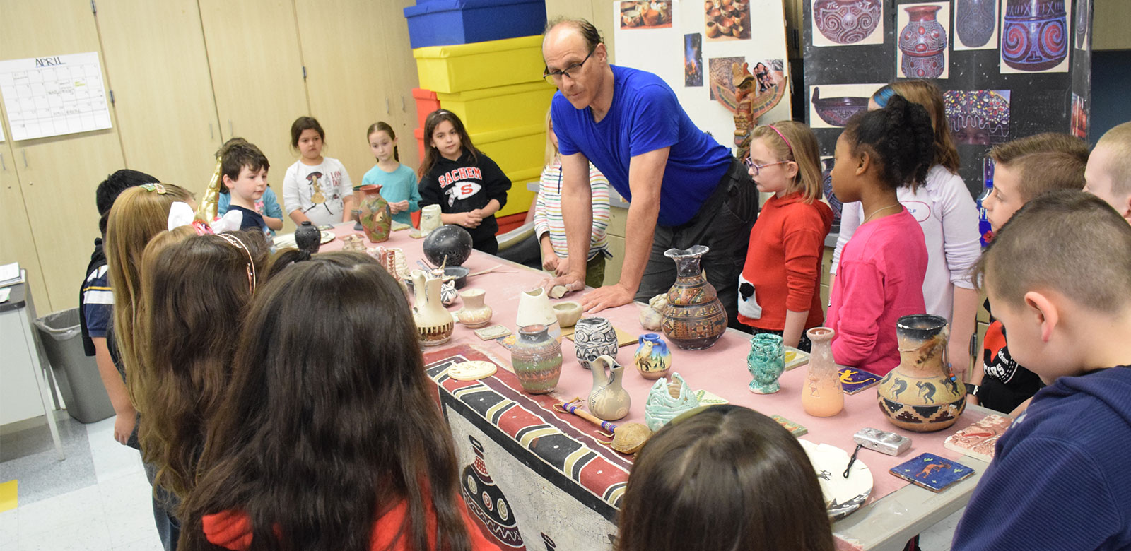 Professional Artist Shares Lessons in Cultural Creations