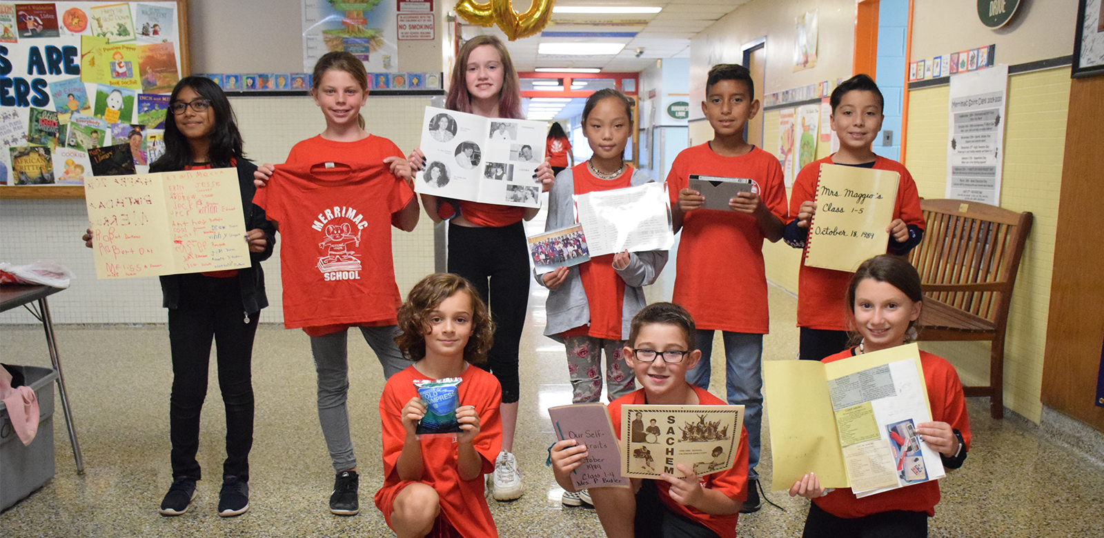 Merrimac Elementary Turns Back Time