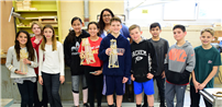 Samoset Technology Students Test Towers photo