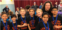 First Place for Lynwood Avenue Destination Imagination Team photo