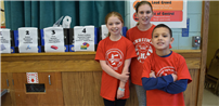 Merrimac Students Stand Out With Supplies Surprise photo