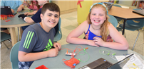 Chippewa Students Connect to Conductivity photo
