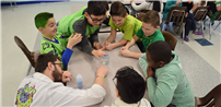 Mad Science Workshop Wows Hiawatha Students photo