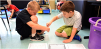 Wiggling Worms Tested Student Ingenuity at Waverly Elementary photo