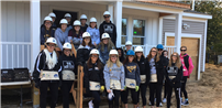 Sachem North Lends Hand with Habitat for Humanity photo