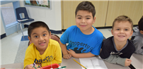 Reading Buddies Build Successful Bridges Together photo