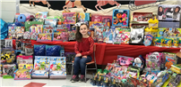 Cayuga Elementary Second Grader Is Holiday Hero photo