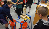 Samoset Technology Students Test Towers photo 3