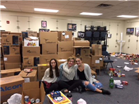 Thanksgiving Food Drives Bring Out Best in Sachem Students, Staff photo 2