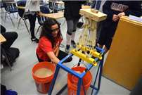 Samoset Technology Students Test Towers photo 2