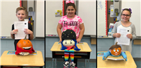 Nokomis Students Craft Character Pumpkins photo